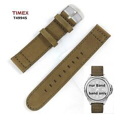 Timex Ersatzarmband T49945 Expedition Rugged Metal Field - Leder universal 20mm
