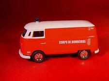 JL 1965 VW VOLKSWAGEN BUS TRANSPORTER CORPO DE BOMBEIROS RUBBER TIRE LIMITED