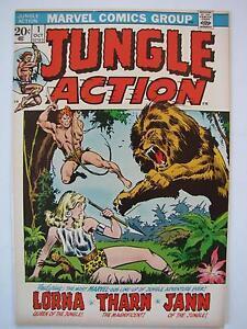 Jungle Action #1 (Oct 1972, Marvel) [VF 8.0]