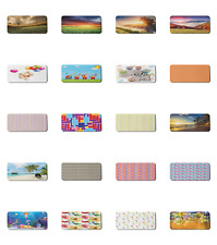 """Ambesonne Pastel Rectangle Non-Slip Mousepad, 35"""" x 15"""" Gaming Size"""
