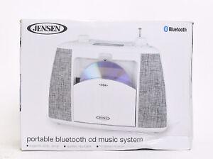 Jensen CD-565 Portable Bluetooth CD Music System