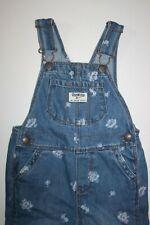 New OshKosh Girls Denim Blue Jean Overalls 3T Cornflower...