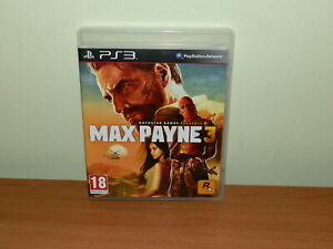 MAX PAYNE 3 PS3 PLAYATATION 3 USATO SICURO VERSIONE UK