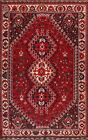 Vintage Tribal Geometric Traditional Oriental Area Rug Handmade Wool Carpet 7x10