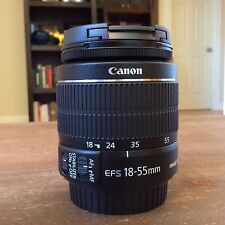 New! Authentic Canon Zoom Lens EF-S 18-55mm f/3.5-5.6 IS II