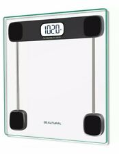 New Lcd Digital Glass Bathroom Scale max Weight 400 lb 180 kg. Free shipping