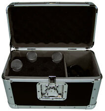 ACF-sw/Microphone case para 12 micrófono y accesorios maleta de transporte