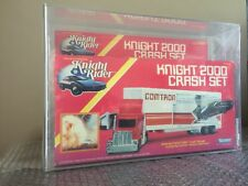 Knight Rider - Kenner 1983 Knight 2000 Crash Set Factory Sealed AFA 75 RARE LOOK