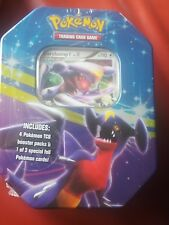 POKEMON TIN BOX  CARCHACROK / GARCHOMP     Cartes en ANGLAIS