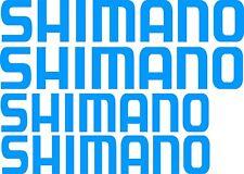 Shimano Stickers 2 x 700 mm x 120 mm , 2 x 600 mm x 110mm Marine Grade Material.