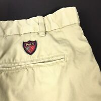 Polo Ralph Lauren Mens Golf Shorts Classic Fit Chino Stretch Twill Khaki Sz 42
