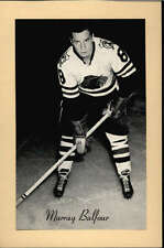 1944-63 BEEHIVE GROUP 2 PHOTOS   MURRY BALFOUR CHICAGO BLACK HAWKS EX-MT F2519