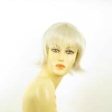 Perruque femme blanche cheveux lisses ref NINA 60