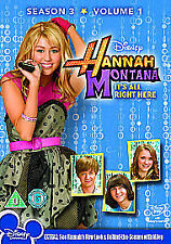 Hannah Montana - Series 3 Vol.1 - It's All Right There (DVD, 2010) NEW / SEALED