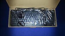 NUOVO Inscatolato dell Desktop PC SERVER USB esterno UK Inglese Nero Tastiera t273c