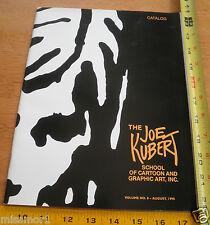Joe Kubert catalog 1998 V.8 School of Cartoon and Graphic art book