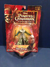 "Disney Pirates Of The Caribbean Worlds End 3""  Captain Sao Feng   New On Card"
