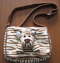 Tiger Purse, Tiger Toy Bag, Tiger Lover Gift, Tiger Bag