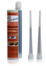 Injektionsmörtel RH 360 mit Zulassung zwei Statikmischer 345ml Montagemörtel