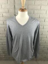 Banana Republic Men's Luxury Blend V Neck Sweater Cashmere Silk Cotton Sz XL DS2
