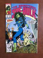 Sensational She-Hulk #35 (1992) 9.2 NM Marvel Key Issue John Byrne Comic Book