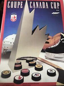 1991 Labatt Coupe Canada Cup Official Hockey Souvenir Program Canada Wins