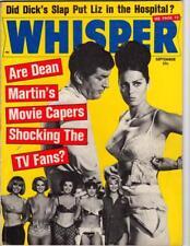 Whisper Sep 1966 Did Dick's Slap Put Liz In The Hospital?