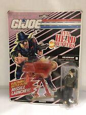 New listing 1991 Hasbro G.I. Joe Evil Head Hunters Headman Drug Kingpin Action Figure