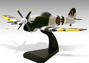 Hawker Typhoon Mk 1 RAF Solid Kiln Dried Mahogany Wood Desktop Airplane Model