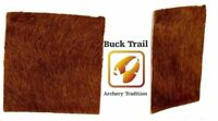 New Buck Trail Traditional Archery Arrow Rest Plate * Calf Leather & Calf Hair *