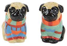 48821 Pug Pugly Sweater Dog Salt Pepper Shaker Set Kitchen Decoration Pet Puppy