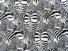 Zebra Multi TELA FQ 50 X 56 cm Nutex 85870-1 100% algodón