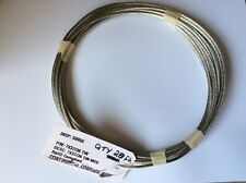 20' Aircraft Grounding Cable Bonding Strap Braided Tinned Copper Wire Aviation