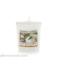 Yankee Candle Duftkerze Votivkerze Sampler 49g  Sea Salt & Sage