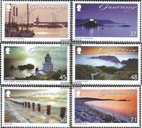 GB - Guernsey 1151-1156 (kompl.Ausg.) postfrisch 2007 Landschaft