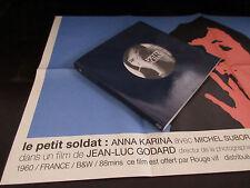 Le Petit Soldat Japan Film Program Book w Poster Jean-luc Godard Anna Karina