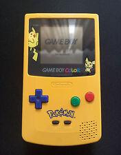 Game Boy Color Pokémon Pikachu Edition pikachugelb très bien cgb-001 GAMEBOY GBC