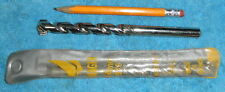 "9/16 Masonry Hammer Drill Bit Diager 14mm 3/8 Shank Chuck 6"" long NEW NIB"