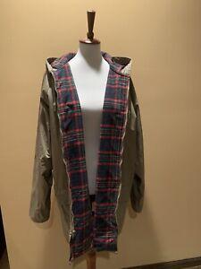 Misty Harbor Original Ladies Rain Insulated Jacket Size XL Khaki