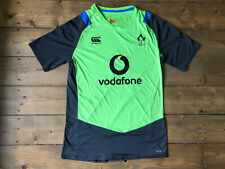 Ireland Canterbury CCC Rugby Men's Drill Training T-Shirt Grey Green Size Large