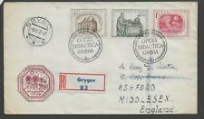 CZECHOSLOVAKIA 1957 300th Anniversary of Publication of Komensky's FDC
