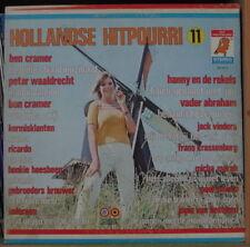 HOLLANDSE HITPOURRI 11 CHEESECAKE COVER HOLLAND PRESS LP DURECO 1973