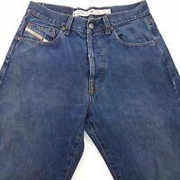Diesel KULTER Mens Vintage Jeans W32 L33 Dark Blue Regular Straight High Rise