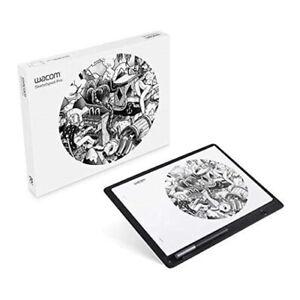 Wacom Sketchpad Pro - Genuine Leather Digital Paper Notepad (Black Leather)