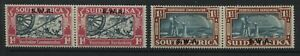 South West Africa 1938 Voortrekker set of 2 in pairs mint o.g.