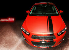 2012-2014 Chevrolet SONIC Chevy 5 door Hatchback OFFSET Rally Stripes Decal AVEO