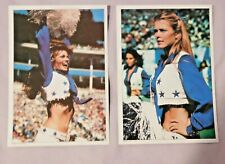 1981 Topps Dallas Cowboys Cheerleaders 5 x 7 Football Card Pick one