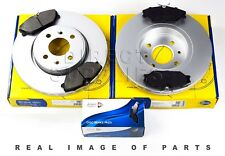 FRONT AXLE BRAKE SET DISCS AND PADS FOR RENAULT COMLINE ADB0526 ADC1517V