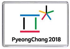 PyeongChang 2018 Winter Olympics Games logo Fridge Magnet 01