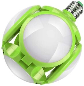 Adjustable Deformable Garage Light LED Bulb Light Football UFO Ceiling Lamp 40W